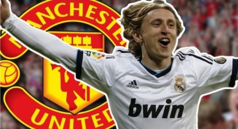 Luka Modric, Real Madrid , Manchester United