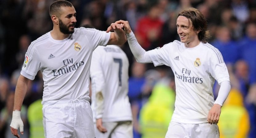 Benzema Modric Real Madrid